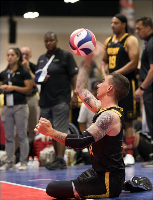 Warrior-Games-Army-Paralympic-Voleyball